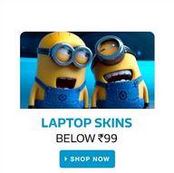 flipkart laptop skins