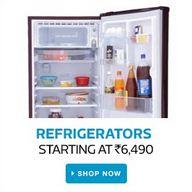 flipkart refrigerators