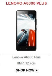 lenovo A6000 plus open sale