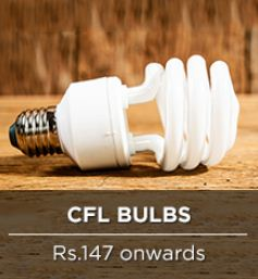 pepperfry CFL bulbs