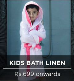 pepperfry kids bath linen