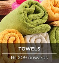 pepperfry towels