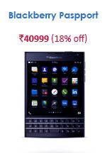 snapdeal blackberry passport