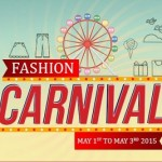 Snapdeal Fashion Carnival Sale From May 1st to May 3rd