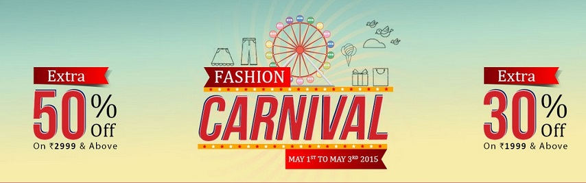 snapdeal fashion carnival