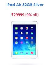 snapdeal iPad Air 32 gb silver