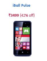 snapdeal iball pulse