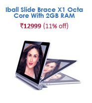 snapdeal iball slide brace x1