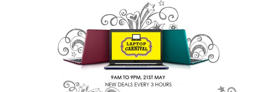snapdeal laptop carnival sale