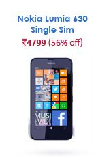 snapdeal nokia lumia 630 single sim india mobile day