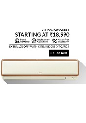 super sale flipkart 8th may AC hp