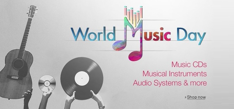 Amazon World Music Day Offers