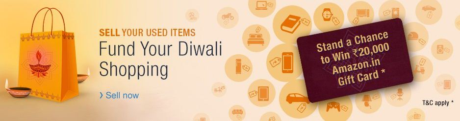 Amazon gift card fund your diwali contest