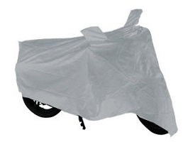 Carmate Universal Two Wheeler Cover Silver
