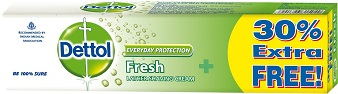 Dettol Everyday Protection Cool Lather Shaving Cream 91 gm