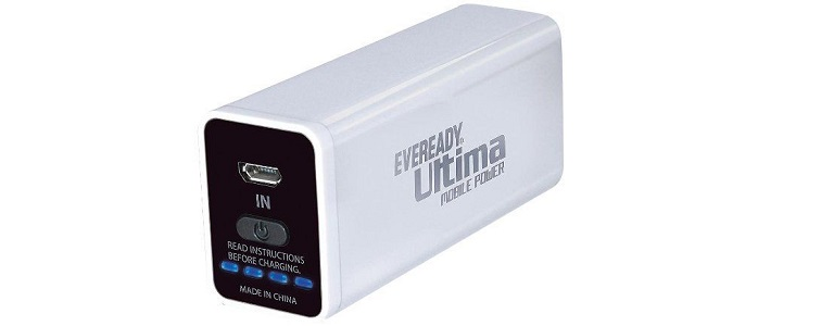 Eveready Ultima 2600 mAh Power Bank