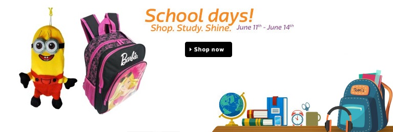 Flipkart School Days Sale