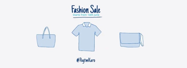Paytm Fashion Sale 100% Cashback