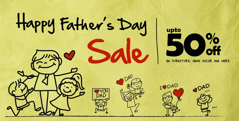 Pepperfry Happy Fathers Day Sale