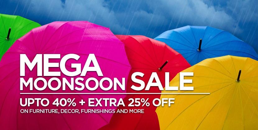 Pepperfry Mega Monsoon Sale