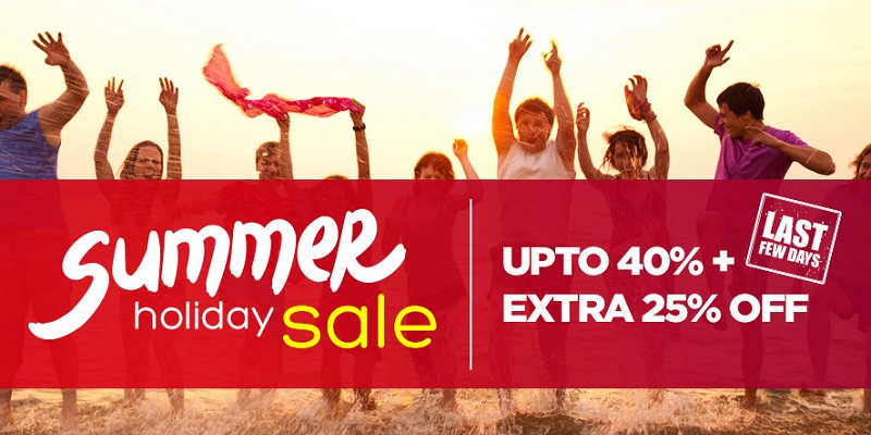 Pepperfry Summer Holiday Sale June Last few