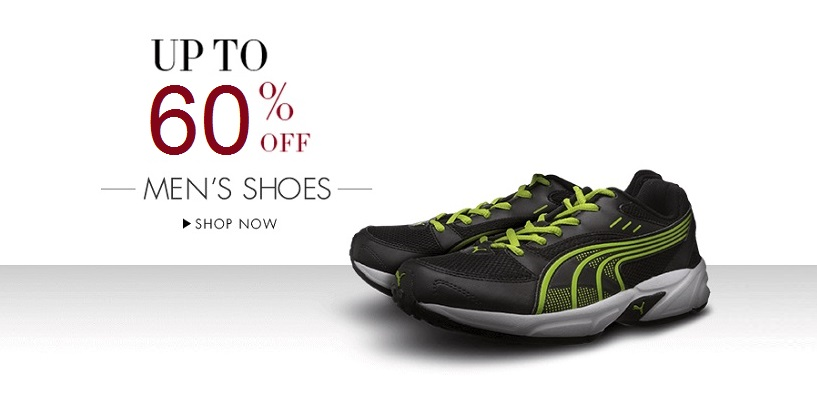 Puma Mens Footwear at upto 60