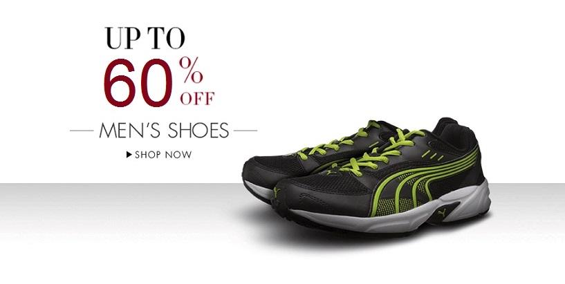 Puma Mens Footwear at upto 60