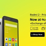 Redmi 2 Dark Grey on Flipkart – Back in Stock