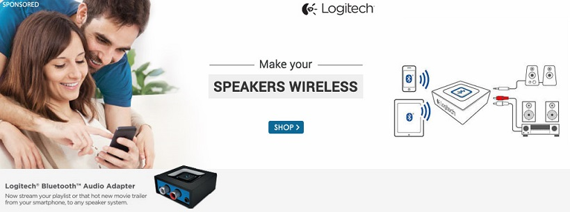 Snapdeal Logitech Bluetooth Audio Adapter