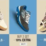 Snapdeal Mens Footwear Offer – Buy 2 Get 10% Off
