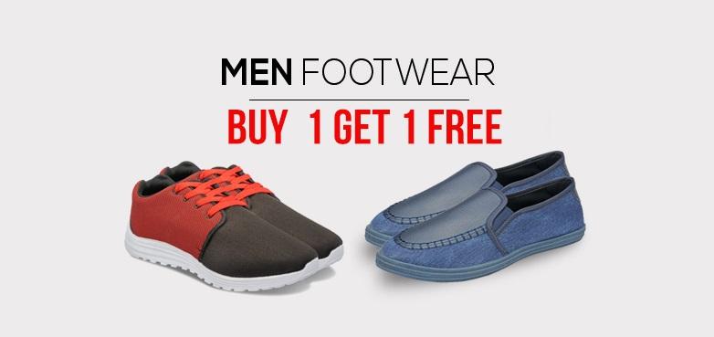 Yepme Mens Footwear Buy 1 Get 1 Free May