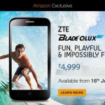 ZTE Blade QLUX 4G on Amazon – Back in Stock