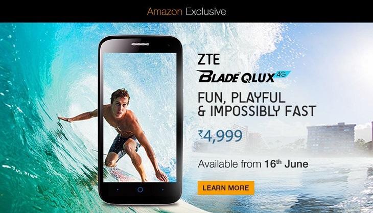 ZTE Blade QLUX 4G Sale