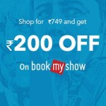 BookMyShow Blockbuster Offer – Get Rs. 200 off