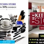 Paytm Half Price Kitchen Sale – Over 2 Lac products