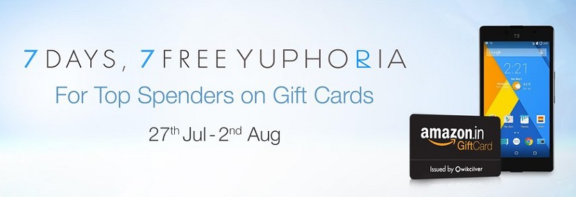 7 days 7 free yuphoria on amazon gift cards