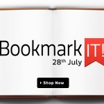 BOOKMARKIT App Sale – Only on Flipkart App 28th July