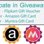 Winners Announced – GrabSparks Exclusive Giveaway – Win Flipkart Gift Vouchers and More