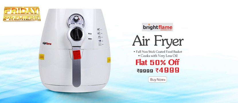 HomeShop18 Bright Flame Air Fryer