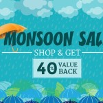 HomeShop18 Monsoon Sale Shop and Get 40% Value Back