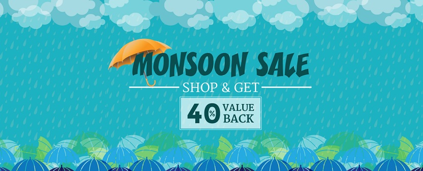 HomeShop18 Monsoon Sale