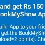 Quikr App Offer – Refer and Win BookMyShow Voucher