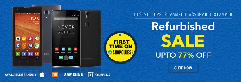 Unboxed Mobiles Sale on Shopclues