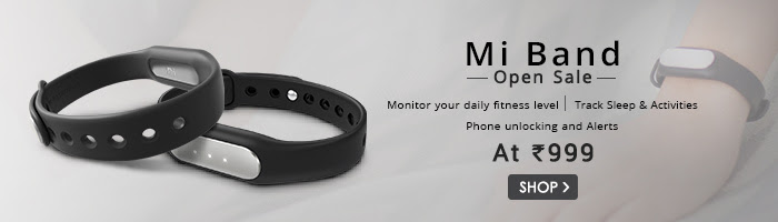 Snapdeal Mi Band Open Sale