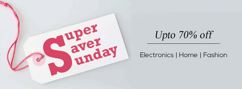 Snapdeal Super Saver Sunday