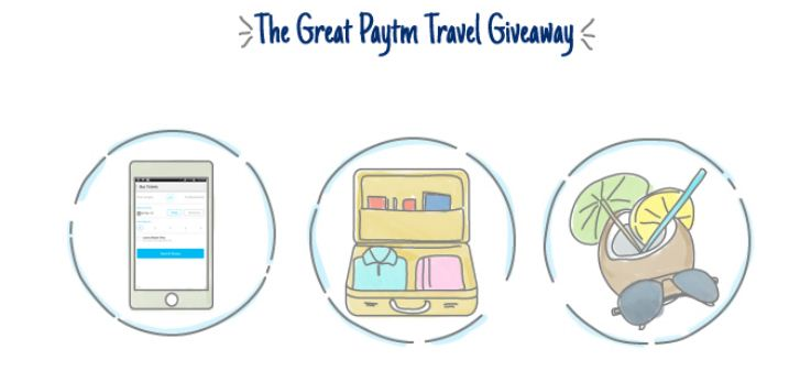 The Great Paytm Travel Giveaway