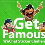 WeChat Sticker Challenge – Win Prizes Worth 5 Lacs