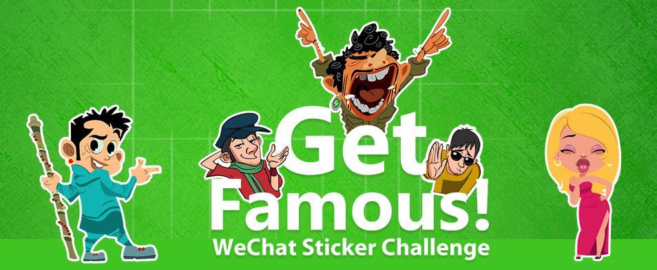 WeChat Sticker Challenge