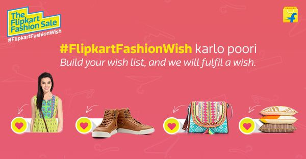 flipkart fashion wish