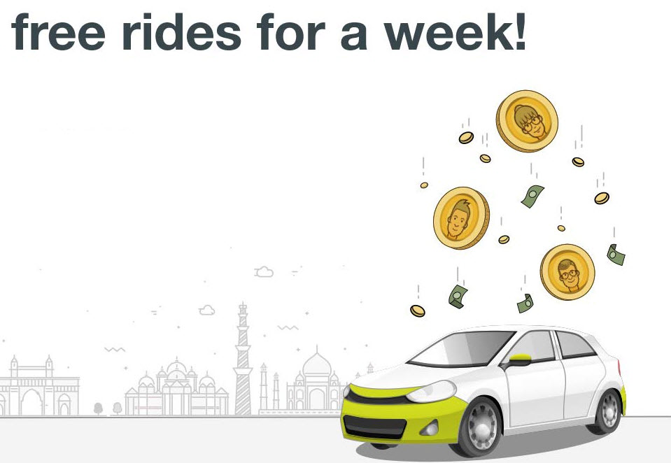 free ola ride offer